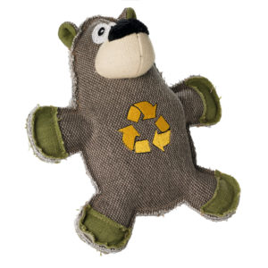 Hunter Dog Toy Canvas Cycle Bear 21 cm